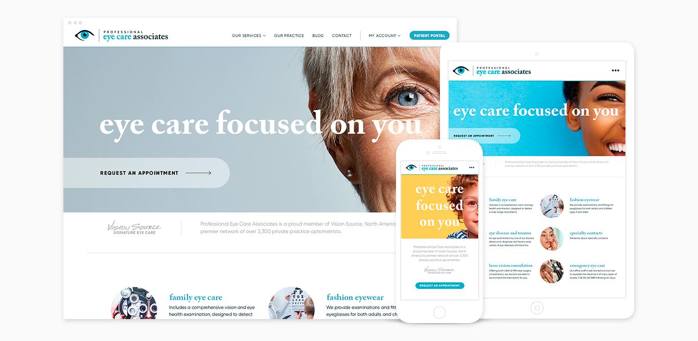 Professional Eye Care Associates — Cultiva
